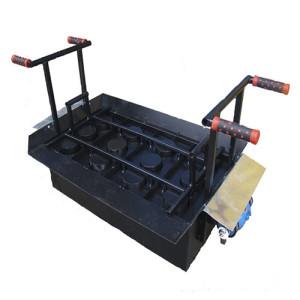 Вибростанок производства строительных шлокоблоков СТ 4, шлакоблоков, строительных блоков. Купить станок в интенет-магазине BOBOS